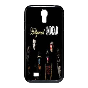 Gators Florida USA-7 Music Band Hollywood Undead Print Black Case With Hard Shell Cover for SamSung Galaxy S4 I9500