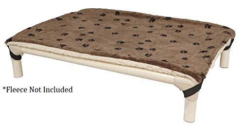 Cordura Fabric Kuranda All-Aluminum Dog Bed Grey