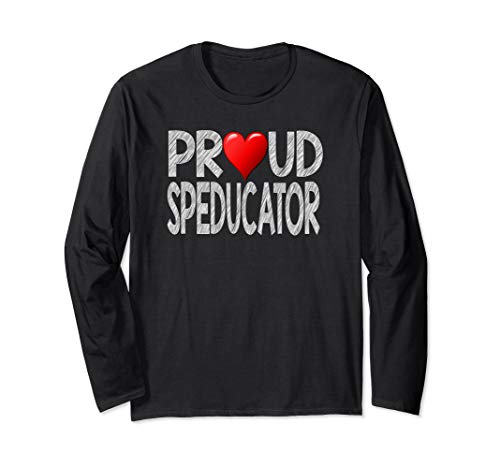 Special Ed Teacher Gift SPED Teaching Long Sleeve T-Shirt