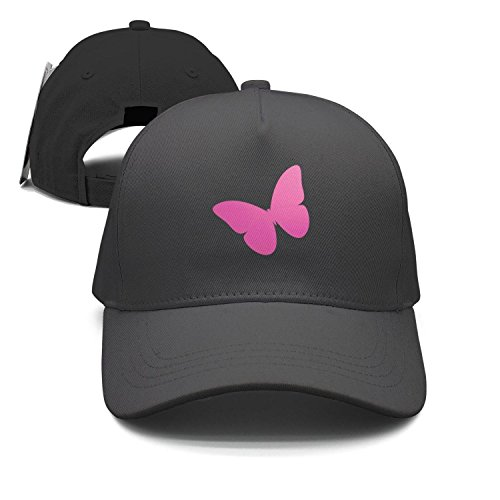 HASIDHDNAC Pink Beauty Butterfly Cool caps for Unisex