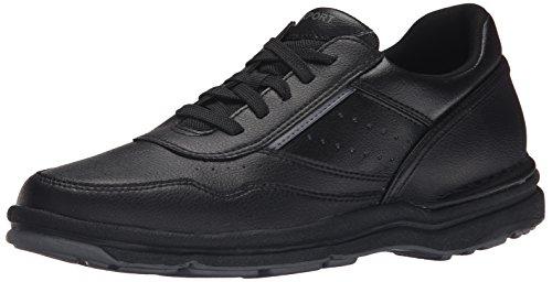 Rockport Men's On Road Walking Shoe-Black-10  M