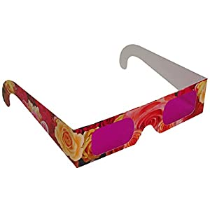Rainbow Symphony Rose Colored Glasses, Package of 25
