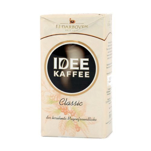 German J.J. Darboven IDEE Coffee Classic - 1 x 500 g (Gift Basket Ideas Under $10)