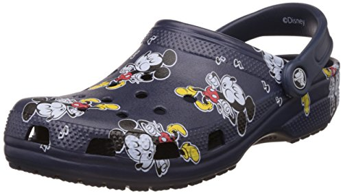 Crocs Classic Mickey Clog Mule, Multi, 10 US Men's/12 US Women's