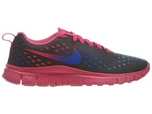 Nike Kids Free Express (GS) Black/Black/Vivid Pink/Vvd Bl Running Shoe 6.5 Kids US
