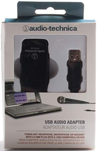AUDIO TECHNICA -PRO SOUND ATR2USB 3.5MM TO USB 2.0 AUDIO ADAPTOR MIC & HEADPH INPUTS MUTE & VOL CONT