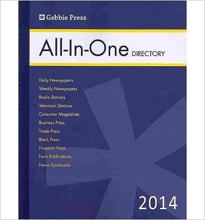 Amazon com: Gebbie Press All-in-One Media Directory (Gebbbie Press