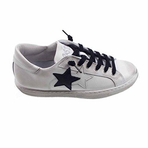 2stars Uomo F 17 18 w Bianca Star sneakers eWD2bYEH9I