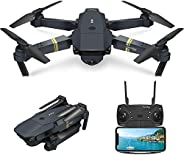 Drone with Camera Live Video,EACHINE E58 WiFi FPV Quadcopter with 120° Wide-Angle 720P HD Camera Foldable Dron