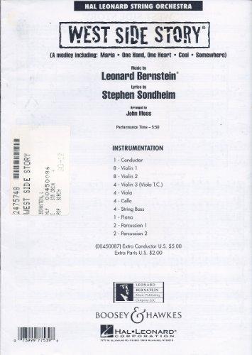 West Side Story Full Score (Hal Leonard Full Orchestra)