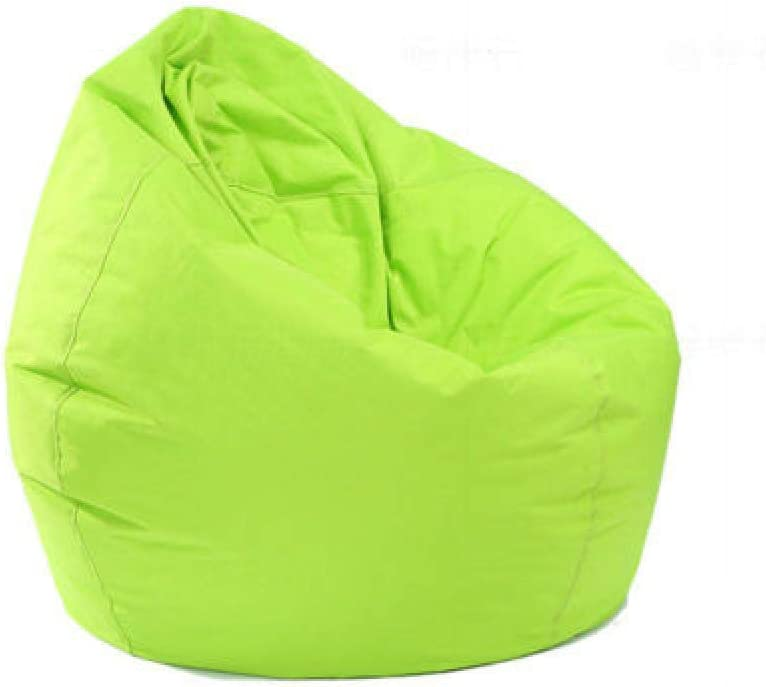 Large 60 65cm Bean Bag Chair Covers Replacement Comfy Beanbag Without Filling Blue, 60 * 65cm