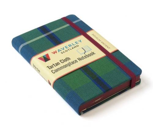 Douglas Ancient: Waverley Genuine Tartan Cloth Commonplace Notebook (Waverley Scotland Tartan Cloth Commonplace Notebooks/Gift/stationery/plaid) Hardcover – April 4, 2016 Interlink Pub Group 1849344159 Antiques / Collectibles Blank Books/Journals