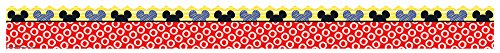 Eureka Mickey Color Pop!, Peeking Head Deco Trim Extra Wide Die Cut (845227)