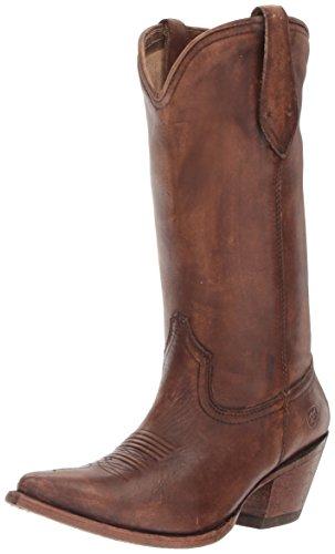 Ariat Women's Josefina Western Cowboy Boot Naturally Distressed Brown