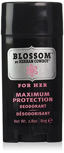 Herban Cowboy: Natural Grooming Deodorant, Blossom 2.8 oz by