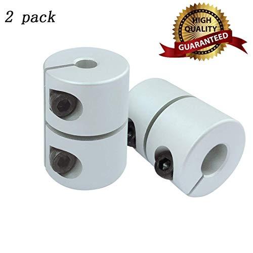 Shaft Coupler Shaft Coupling Flexible Couplings 5mm to 8mm Shaft Coupling Motor Coupler Aluminum Alloy for 3D Printer CR-10 CR-10S Shaft Coupler Shaft Coupling Flexible Couplings