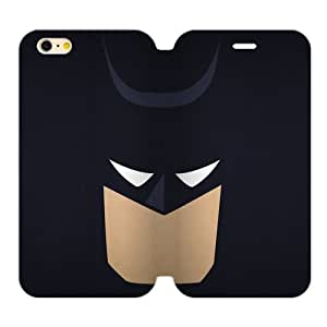 Batman Custom TPU Case and High Grade PU Leather Cover for iPhone6 Plus 5.5""