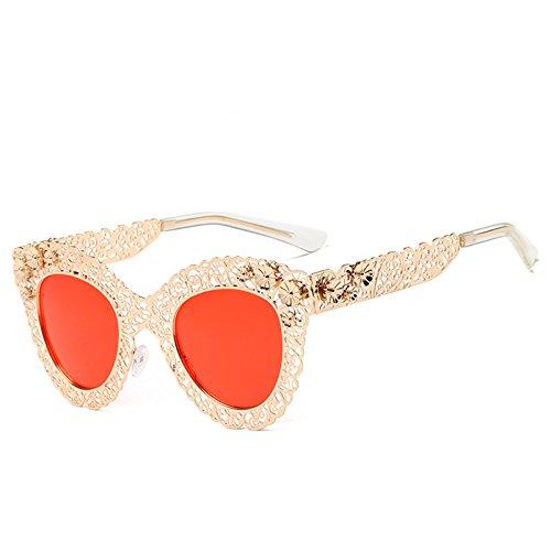 2 Sunglasses Huecas De De Gafas De De Caja Retro 2 Gafas Gafas Grande Sol Decorativas De De Ojo Sol Sol Gato x84AHUnxW