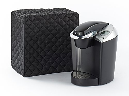 Covermates   Keurig Coffee Maker Cover   14W X 9D X 14H   Diamond Collection   2 Yr Warranty   Year Around Protection   Black