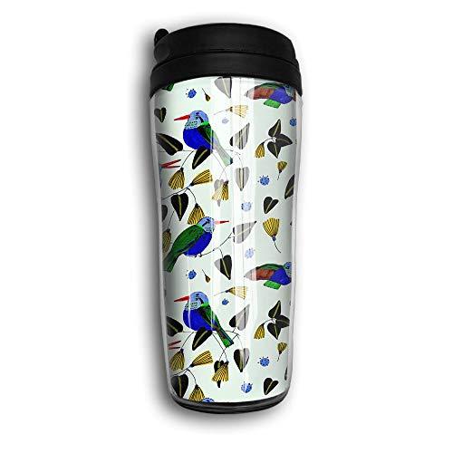 Hummingbird Cute Bird Travel Mug Coffee Thermos Stainless Steel Flask Water Bottle
