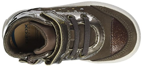 Geox B Kilwi Girl, Zapatillas para Bebés Marrón (Smoke Grey)