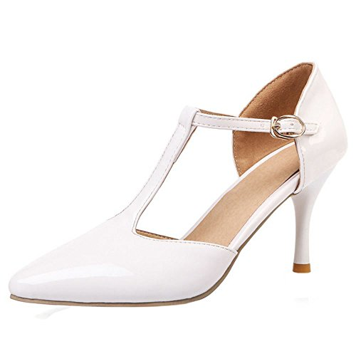 White 1 Zanpa T Mode Strap Donna Sandali rrqY0Ox