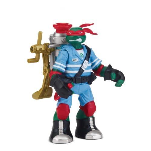 Tortues Ninja - 5530 - Figurine Articulée - Animation - Raphael Mutagen Ooze Avec Accessoires - 12 Cm