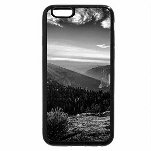 iPhone 6S Plus Case, iPhone 6 Plus Case (Black & White) - gorgeous sunrise above a wonderful landscape hdr
