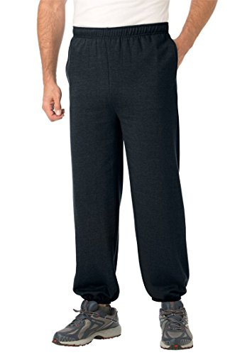 Kingsize Mens Fleece Sweatpants Elastic