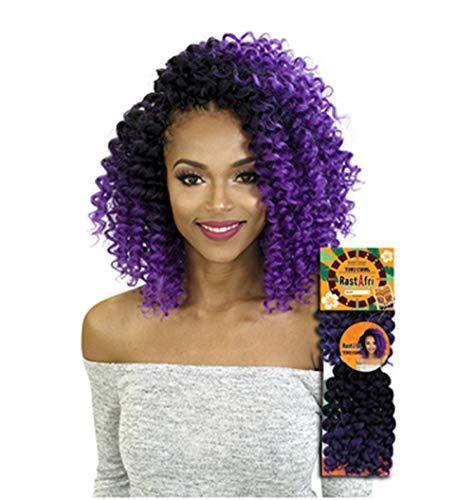 Tiki Curl Crochet Braids (1B)