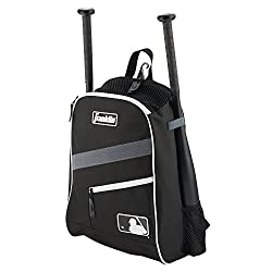 Franklin Sports Bat Pack Equipment & Bat Backpack, Black