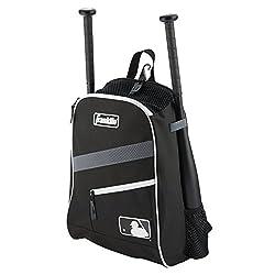 Franklin Sports Bat Pack Equipment & Bat Backpack, Black