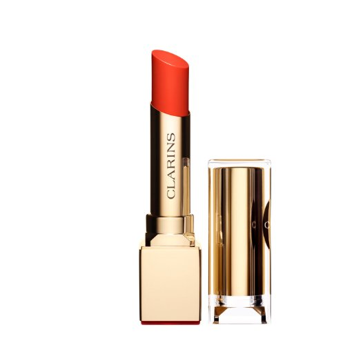 Clarins Rouge Eclat Lipstick Satin Finish Age-Defying Lipstick 09 Juicy Clementine