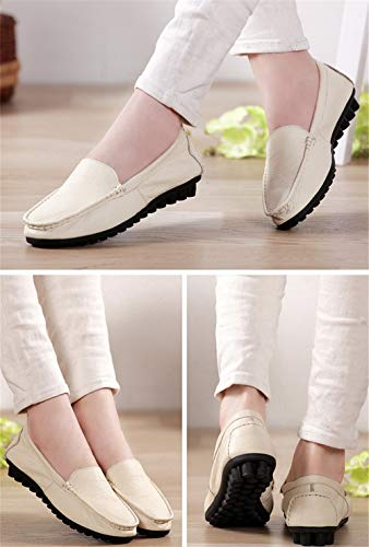 FLYRCX shoes flat C Spring single shoes comfortable maternity shoes casual shoes and slip non leather autumn work AHAYrqw