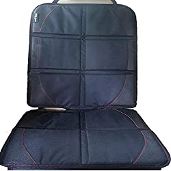 car seat Protector Perfectly Protect Car Seat Under Baby Child Car Seat or Pets, Cover pad Protects Automotive Vehicle Leather Cloth Upholstery