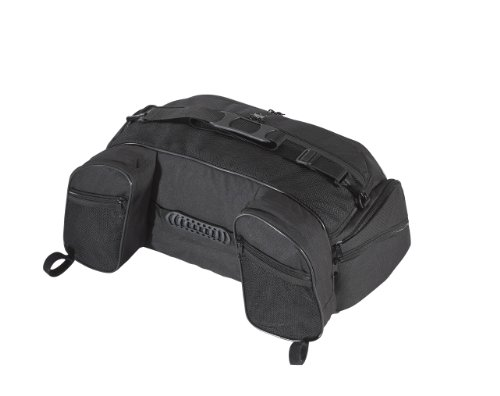 Black Rack Luggage (UltraGard 4-603 Black Touring Luggage Rack Bag)