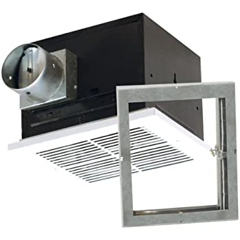 Air King Fras50 Fire Rated Exhaust Bath Fan With 50 Cfm And 3 0 Sones White Finish Built In