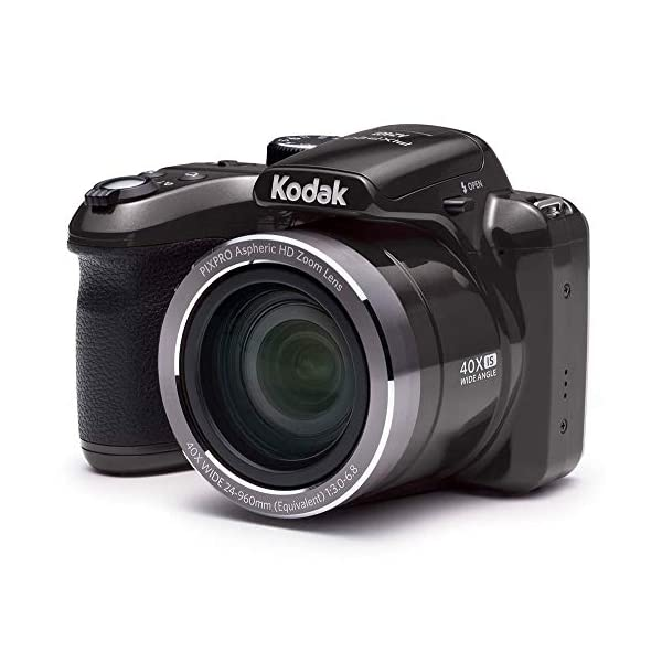 RetinaPix Kodak PIXPRO Astro Zoom AZ401-BK 16MP Digital Camera with 40X Optical Zoom