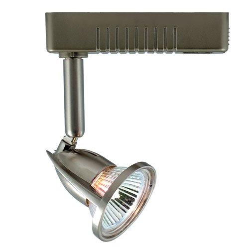 Jesco Lighting HLV12350SC Mini Deco 123 Series Low Voltage Track Light Fixture, 50 Watt, Satin Chrome Finish