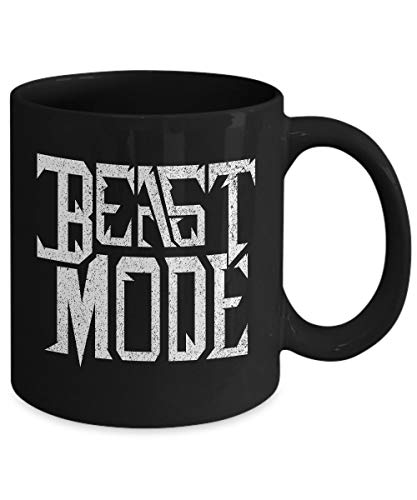 Distressed Trainer - Beast Mode Mug, Distressed, Personal Trainer Mug, Bodybuilder Gift, Fitness Mug, Fitness Coffee Mug, Gym Mug, Quote Mug, Unique Coffee Mug