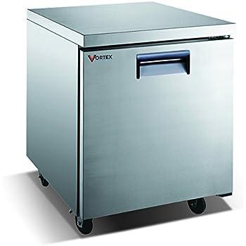 Amazon Com Vortex Refrigeration Commercial 1 Door 27