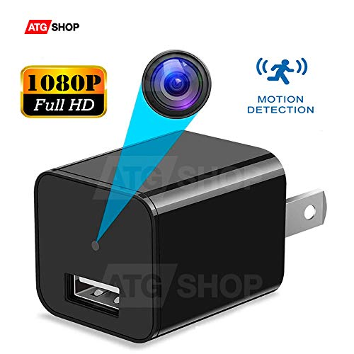 Spy Camera - Hidden Camera - Motion Detection - USB Hidden Camera - Surveillance Camera - Mini spy Camera -USB Camera - Best Spy Camera Charger - Hidden Camera Charger - Security Camera - Nanny Cam