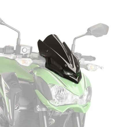 17-18 KAWASAKI ZR900ABS: Puig Naked Generation Sport Windscreen (BLACK) (Model Puig)