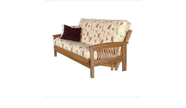 amazon    august lotz f7717am   f2002 san marcos solid oak futon frame  baby amazon    august lotz f7717am   f2002 san marcos solid oak futon      rh   amazon