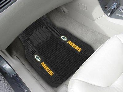 FANMATS Green Bay Packers Deluxe Car Mat Set ()
