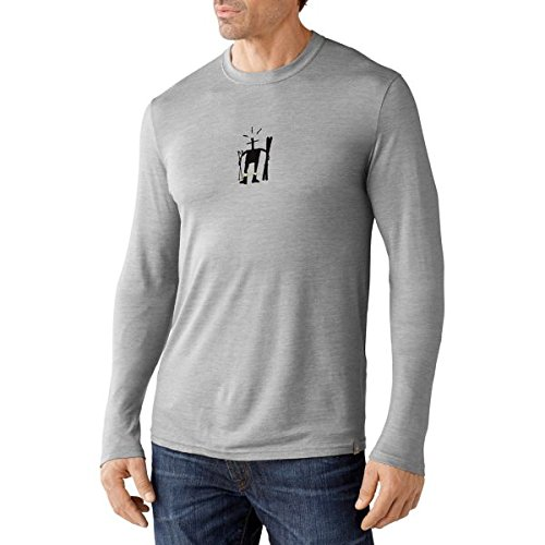 Smartwool Men's Little Girl Ski Long Sleeve Tee Slim Fit