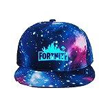 Unisex Baseball Cap Peaked Hat Adjustable for Kids, Man, Women (Blue)