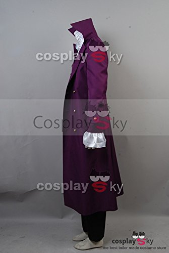 CosplaySky Purple Rain Costume Prince Rogers Nelson Halloween Full Set XX-Large by Cosplaysky (Image #2)