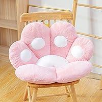 RZNLQF 1pcs Seat Cushion for Office Chair Butt Pillow Cat Paw Shape Lazy Sofa Chair Skin-Friendly Floor Mat Cute Cartoon…