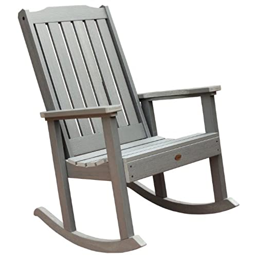 Highwood Lehigh Rocking Chair, Coastal Teak